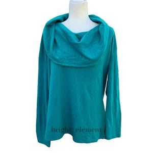 Prana Ginger Top Cowl Neck Long Sleeves Size XL